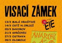 Visací zámek v Praze: Anarchie a total chaos Tour