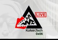 LIVE stream - Kofein.Tech 0x06 - Svobodné technologie v době pandemie