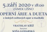 Operní árie a dueta z českých a světových oper a muzikálů