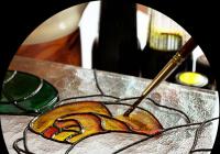 Malování na sklo - jednodenní kurz pro děti