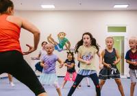 Zábavné tančení pro děti on-line