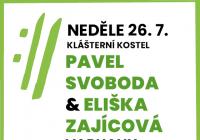 Mezinárodní hudební festival Český Krumlov 2020 - Pavel Svoboda, Eliška Zajícová