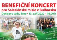 Benefiční koncert pro Salesiánské misie v Bulharsku 2020