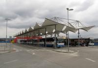 Autobusové nádraží na střeše