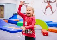 Hravé cvičení pro děti v Monkey's Gym