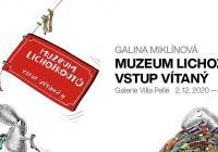 Galina Miklínová / Muzeum Lichožroutů – online vernisáž