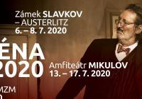 Letní scéna Divadla Bolka Polívky 2020 na slavkovském zámku