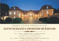 Letní setkání s operními hvězdami Boris Prýgl a Marta Vašková
