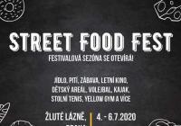 Street Food Fest ve Žlutých lázních