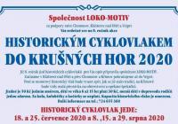 Historickým vlakem do Krušných hor 2020
