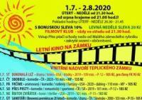 Letní kino 2020 na zámku Teplice