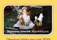 Muzeum hraček Stuchlikovi - Current programme