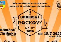 Chřibský rockový nálet 2020 open air