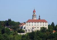 Virtuální prohlídky zámku Náchod - renesanční trámové stropy