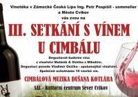III. setkání s vínem u cimbálu
