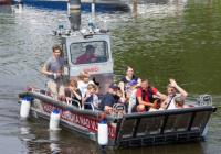 Lodě na Vltavské vodě