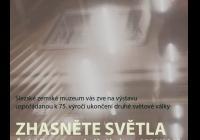 Zhasněte světla. Česká literatura a knižní kultura: říjen 1938 až květen 1945