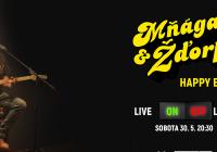 LIVE stream - Mňága a Žďorp – Very spešl koncert Best of 2