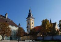 Zámecké nádvoří Moravské Budějovice