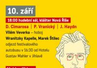 Festival Mahler Jihlava v klášteře Nová Říše