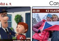 CargoBIO - kino na lodi: K2 Vlastní cestou / Pošťák Pat