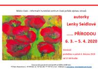 Výstava obrazů Lenky Seidlové