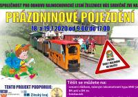 Prázdninové poježdění na Rajnochovické lesní železnici