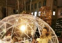 Navštivte vyhřívaná iglú v zahradě Slovanského domu