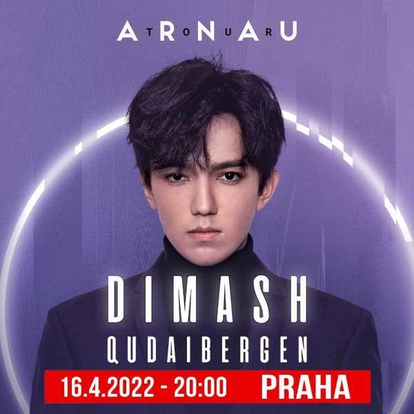 Dimash Qudaibergen v Praze
