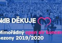 Mimořádný open air koncert sezony 2019/2020