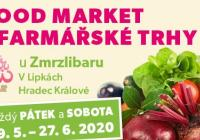 Food market a farmářské trhy u Zmrzlibaru 2020