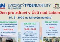 Den pro zdraví v Ústí nad Labem