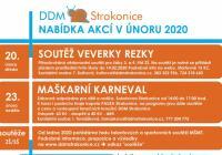 Karneval pro děti 2020 - Sokolovna Strakonice