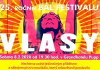 Pupp Bál Festival 2020 - Vlasy - Karlovy Vary