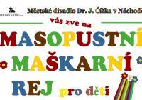 Masopustní karneval pro děti 2020 - Náchod