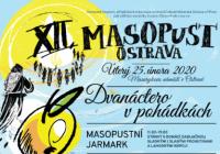 Masopust 2020 na náměstí v Ostravě