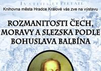 Rozmanitosti Čech, Moravy a Slezska podle Bohuslava Balbína