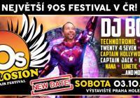 90s Explosion open-air festival Praha 2020