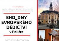 Dny evropského dědictví (EHD) v muzeu v Poličce 2020