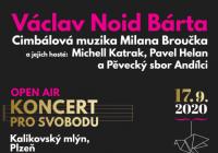 Václav Noid bárta / CMMB - open air koncert pro svobodu
