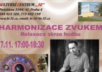 Harmonizace zvukem - relaxační koncert