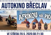 Autokino Břeclav - Afrikou na pionýru