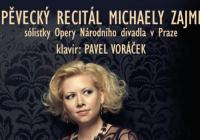 Recitál Michaely Zajmi + doprovod Pavel Voráček