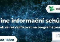 Online info schůzka: Jak se rekvalifikovat na junior programátora?