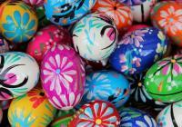 Hledání velikonočních vajíček a velikonoční dílnička