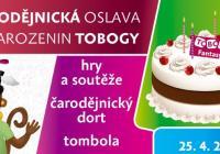 Čarodějnická oslava narozenin Tobogy