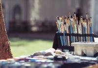 Zkušební lekce v kurzu kresby a malby