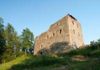 Zřícenina hradu Kamenice, Česká Kamenice