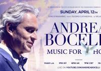 LIVE stream - Andrea Bocelli
