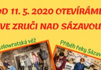 Otevření expozic ve Zruči nad Sázavou